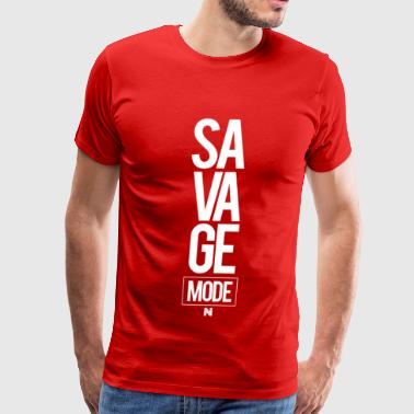 NoMERCY SAVAGE MODE TEE - Men's Premium T-Shirt