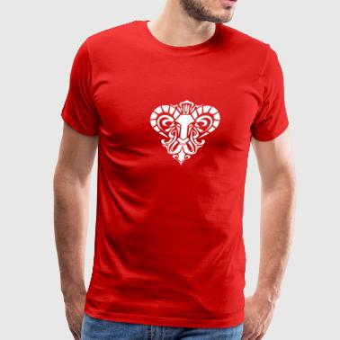 Bull Aries aries - Men's Premium T-Shirt