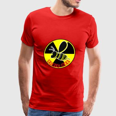 toxic bee logo - Men's Premium T-Shirt
