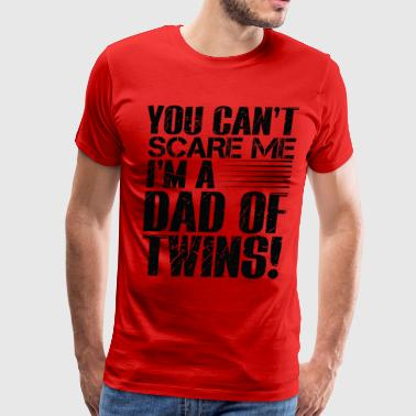 Best Selling DAD OF TWINS PARENT - Men's Premium T-Shirt