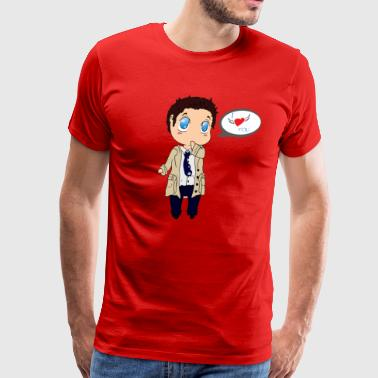Castiel love - Men's Premium T-Shirt