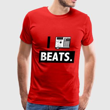 Akai I_mpc_beats_blackwhite - Men's Premium T-Shirt