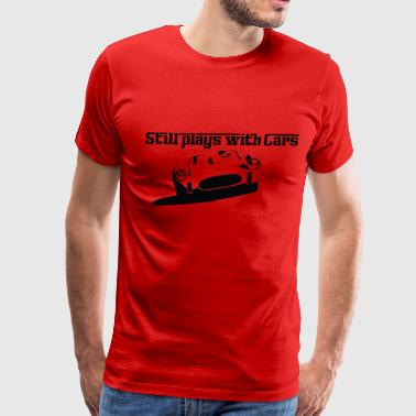 Still plays w/cars Italy - Men's Premium T-Shirt