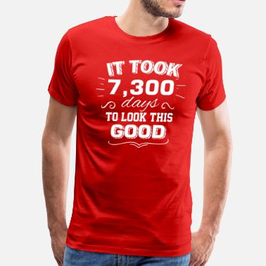 Year Of Birth It took 20 years to look this good - Men's Premium T-Shirt