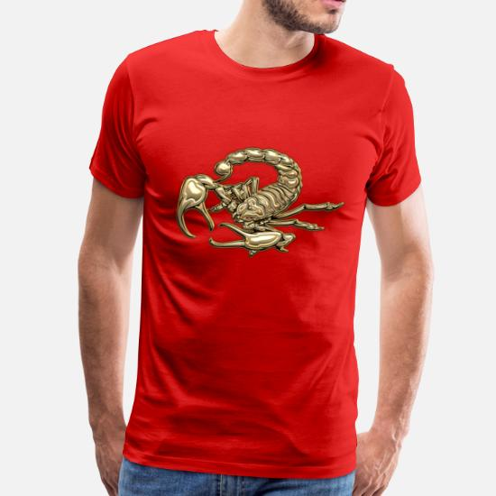 c0ad769b Sacred Golden Scorpion Men's Premium T-Shirt | Spreadshirt