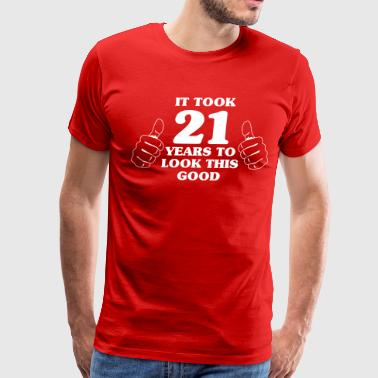 Celebrating 21 Years It took 21 years to look this good - Men's Premium T-Shirt