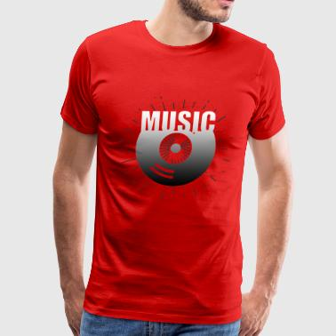 Music Blast CD - Men's Premium T-Shirt