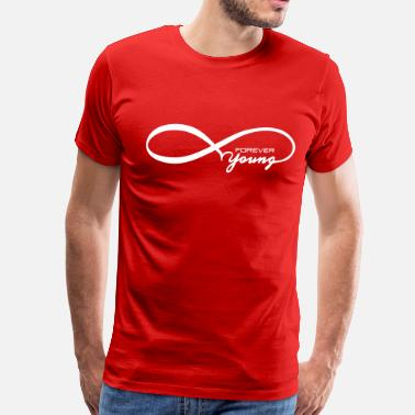 Infinity Young Forever Young - Men's Premium T-Shirt