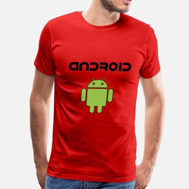 Android Developer android - Men's Premium T-Shirt