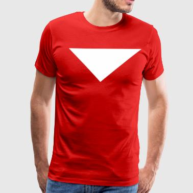 Downward Triangle - Men's Premium T-Shirt