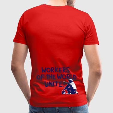 Workers Unite Street Art - Men's Premium T-Shirt