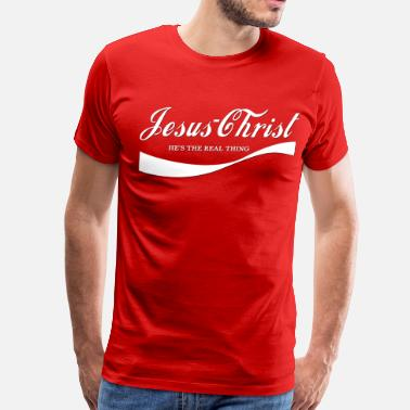 The Blood Of Christ christ_cola - Men's Premium T-Shirt