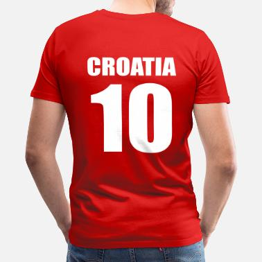 Zagreb Croatia 10 - Men's Premium T-Shirt