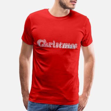 dab2f2ad78ba 3d Christmas christmas 3d letters - Men s Premium T-Shirt