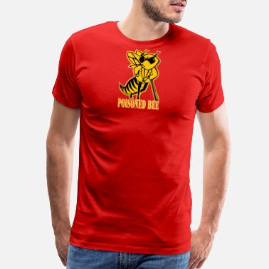 Geek POISONED BEE - Men's Premium T-Shirt