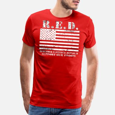 Red Friday Military Red Friday Wear Red On Friday - Men's Premium T-Shirt