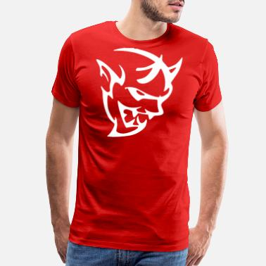 Dodge DODGE DEMON HEAD - Men's Premium T-Shirt