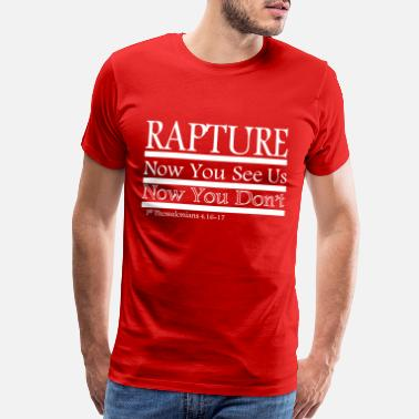 Methodist Rapture: Now You See Us/Now You Don't - Men's Premium T-Shirt