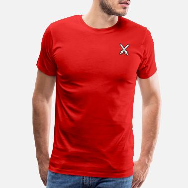 Cross Swords Swords crossed - Men's Premium T-Shirt