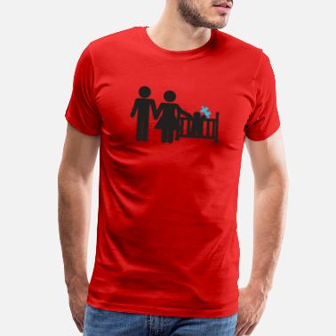 Family Awareness Family Autism Awareness - Men's Premium T-Shirt