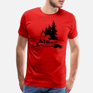 Horse Icelandic Horse: Pony Merch - Men's Premium T-Shirt