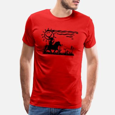 Walk The Walk Icelandic Horse: Pony Merch - Men's Premium T-Shirt