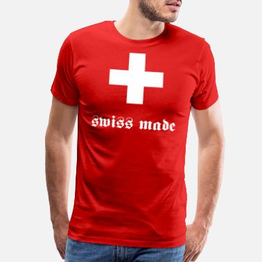 Swiss German swiss made - Men's Premium T-Shirt