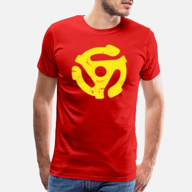 Symbol 45_rpm_spider - Men's Premium T-Shirt