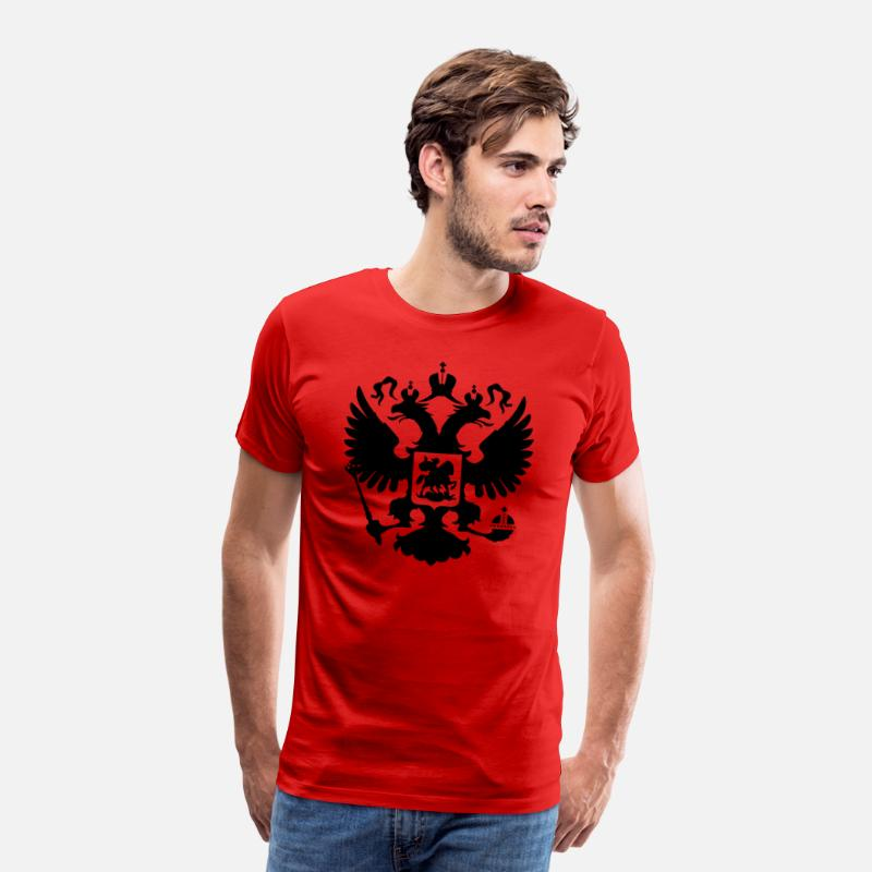 Russian T-Shirts - russian - Men's Premium T-Shirt red