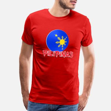 Collars Blue White Red More Fun Philippines 7 - Men's Premium T-Shirt