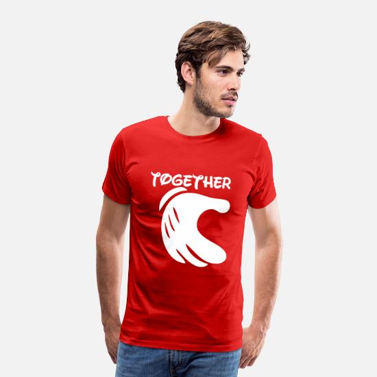 Love T-Shirts - together - Men's Premium T-Shirt red