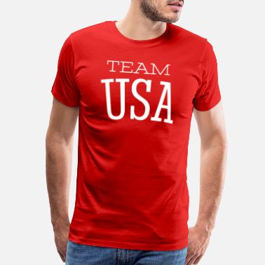 Teamsport Team USA - Sport - Athlets - United States Athlet - Men's Premium T-Shirt