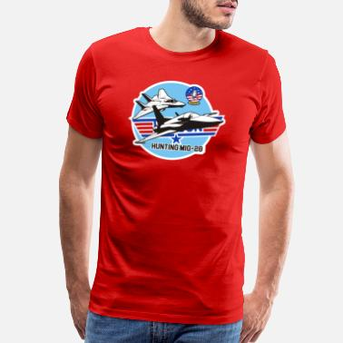 Mig Hunting MiG-28 - Men's Premium T-Shirt