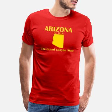 Chandler Arizona est 1912 Grand Canyon State - Men's Premium T-Shirt