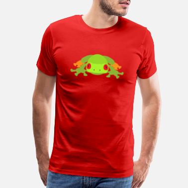 King Fish Frog ready for attack - Men's Premium T-Shirt