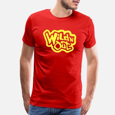 Out wild and out - Men's Premium T-Shirt