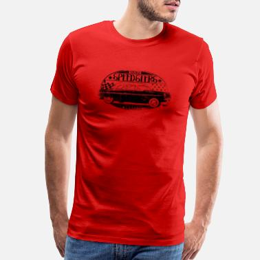 Speedster vintage car Speedsters garage - Men's Premium T-Shirt