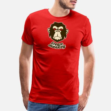 Monkey Grease Monkey - Men's Premium T-Shirt