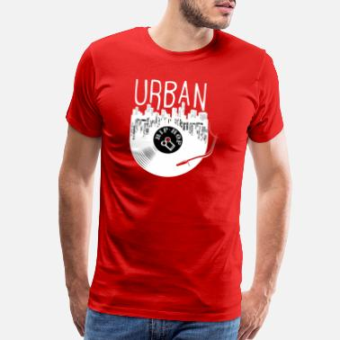 Rap Urban Hip Hop Old School Rap - Men's Premium T-Shirt