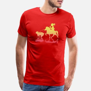 Letting Icelandic Horse: Pony Merch - Men's Premium T-Shirt
