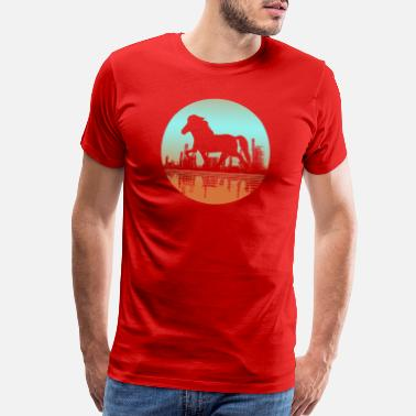 Pony Icelandic Horse: Pony Merch - Men's Premium T-Shirt