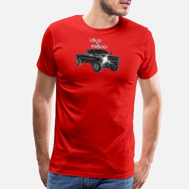 Loud Apparel LOUD 'N' PROUD 2nd Gen Cummins Apparel! - Men's Premium T-Shirt