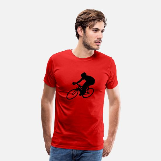 Bicycle T-Shirts - cycling - Men's Premium T-Shirt red