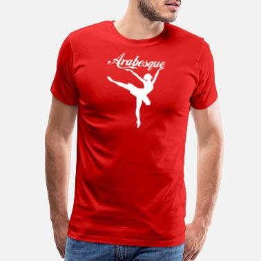 Arabesque arabesque wite - Men's Premium T-Shirt