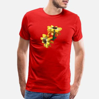 Building Toy Flowers - Men's Premium T-Shirt