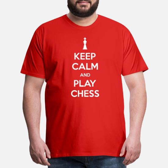 Funny Baby T-Shirt Keep Calm and Play Chess Board Games Toddler Tee