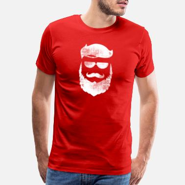 Facial Hair Like A Boss - Men's Premium T-Shirt