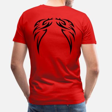 Painting tattoo wings - Men's Premium T-Shirt