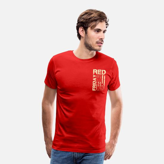 Remember T-Shirts - Red Friday Shirt - Remember Everyone Deployed - Men's Premium T-Shirt red