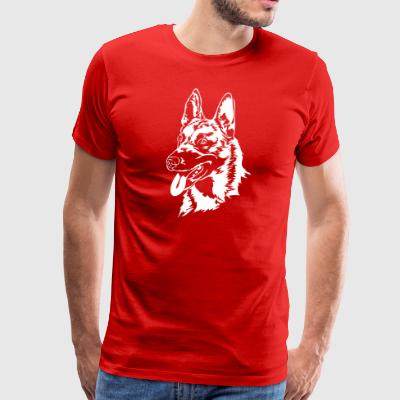 Belgian Malinois dog - Men's Premium T-Shirt